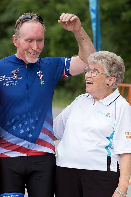Pedaling for a Parkinson's cure 1