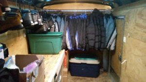 Volko Insurance and Least of Our Brothers - Stocked clothing trailer