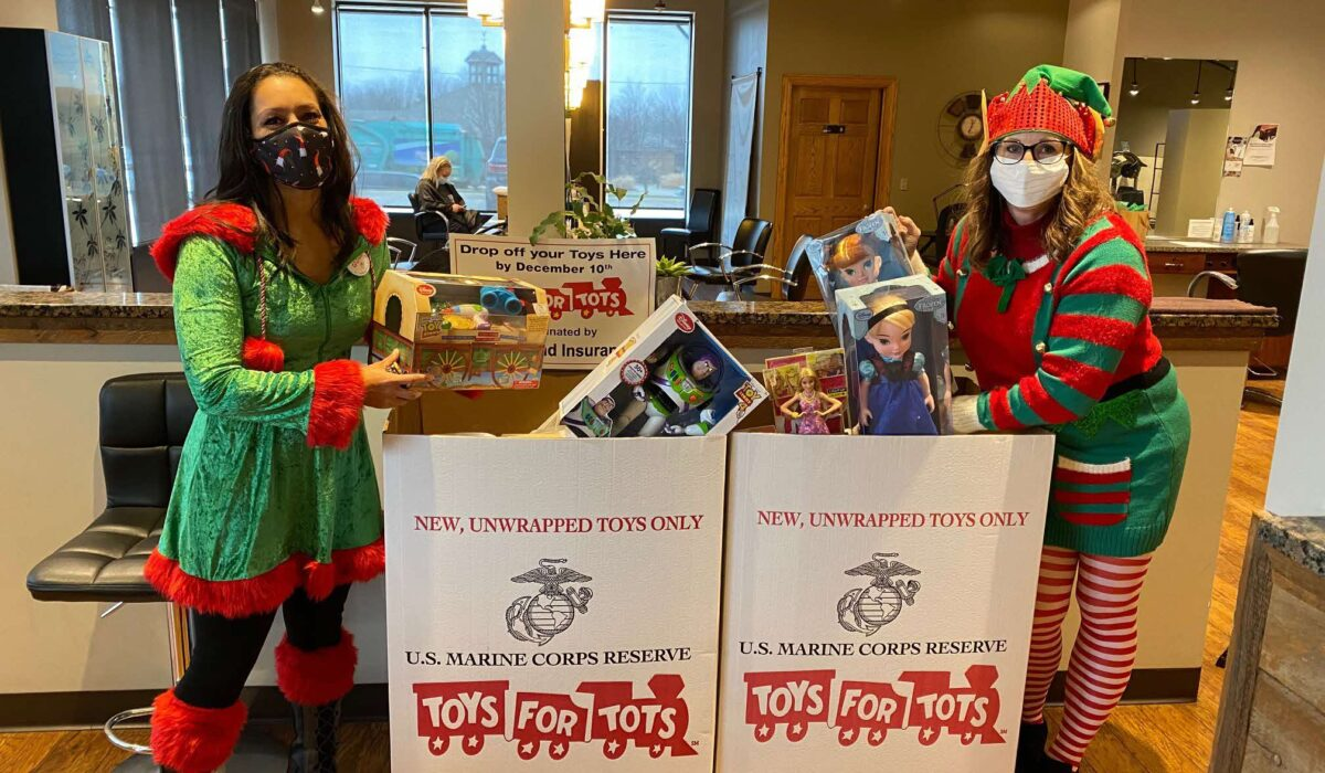 Spreading holiday cheer to deserving kids 4