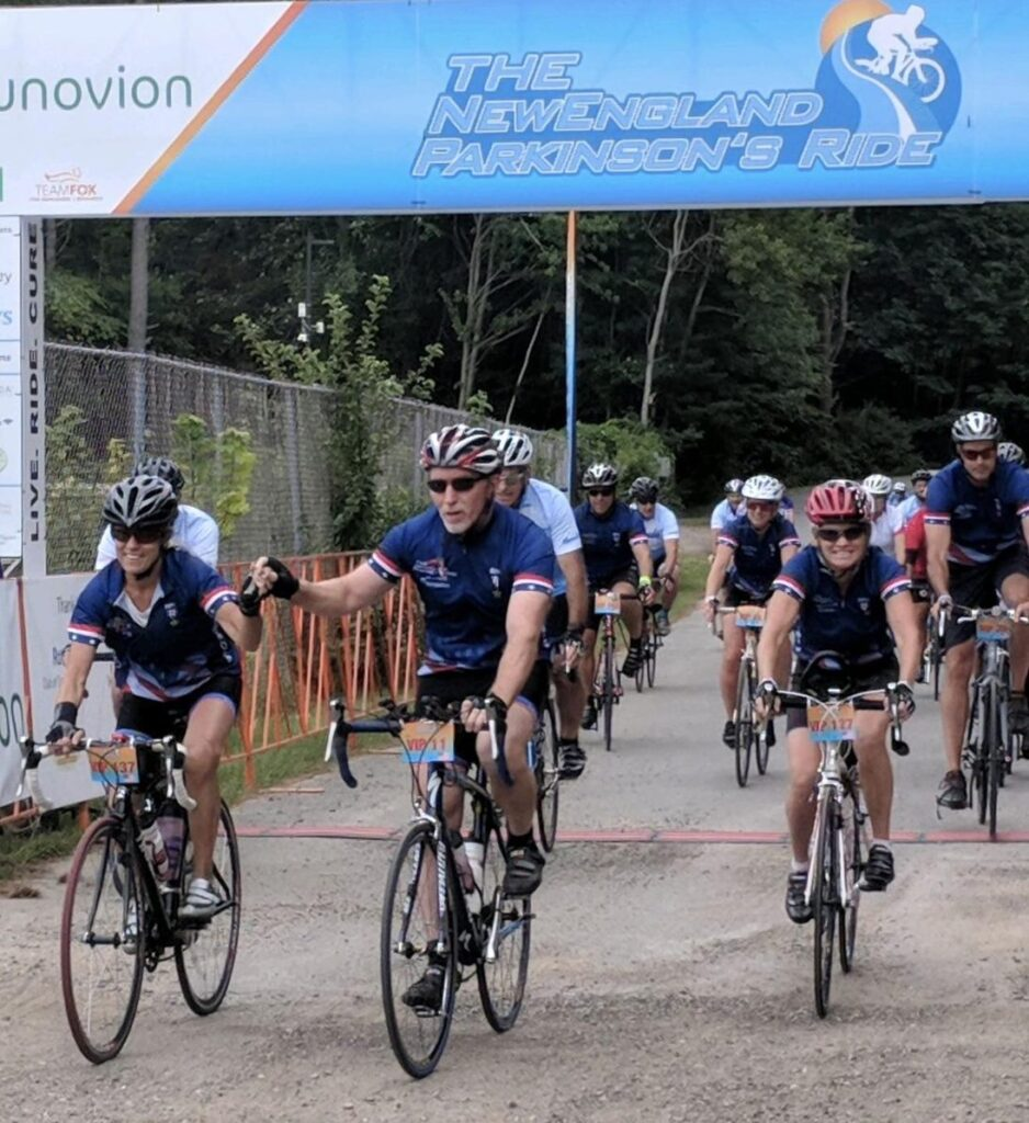 Pedaling for a Parkinson's cure 2