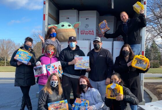 Spreading holiday cheer to deserving kids